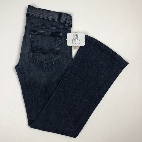 7 For All Mankind Denim - 7 For All Mankind The Lexie Petite Bootcut Jean